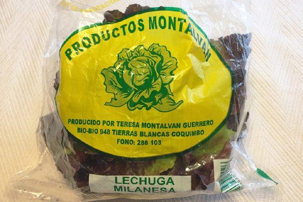bolsa para verduras